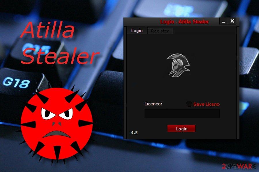 Atilla stealer malware