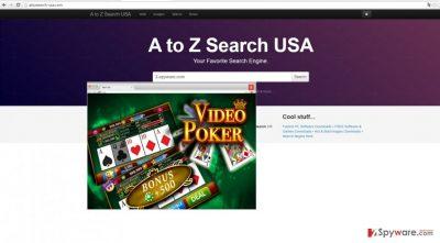 The screenshot of atozsearch-usa.com