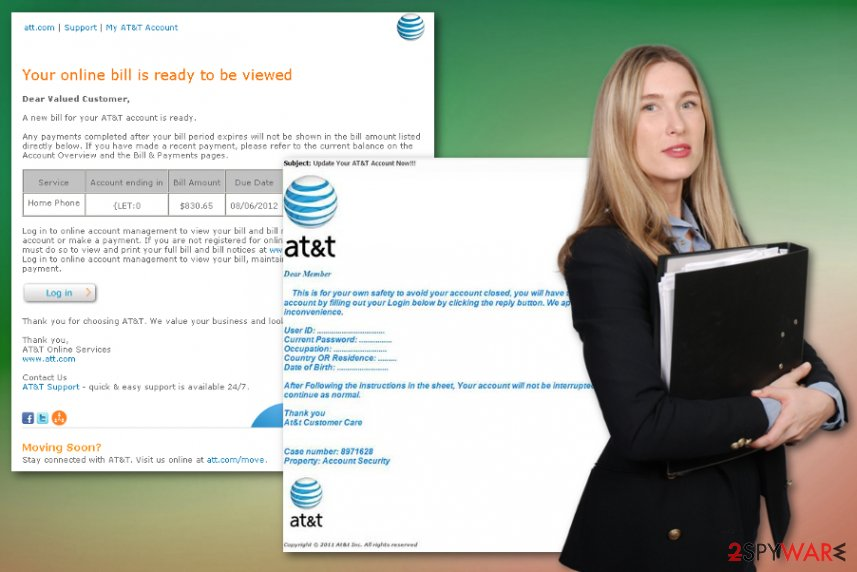 AT&T Email Virus