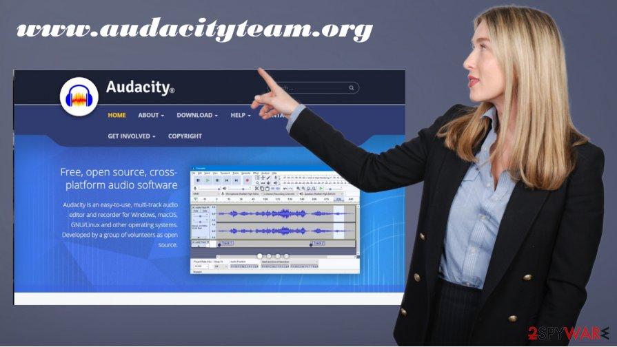 Audacity official site