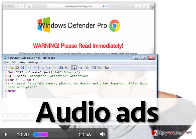 Audio ads