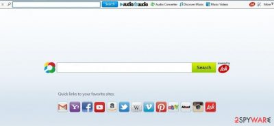 Audio To Audio Toolbar redirect