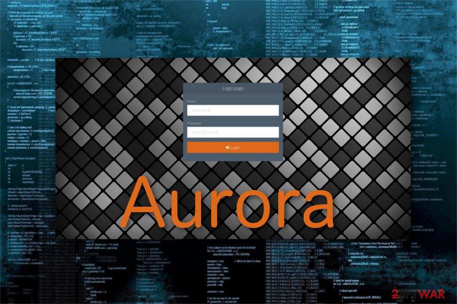 Aurora ransomware variant