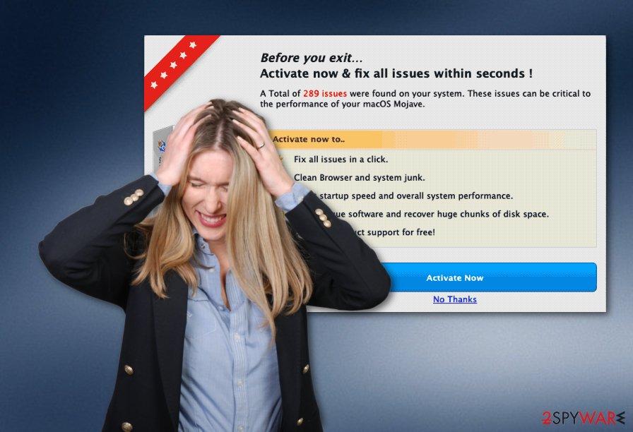 Auto Mac Speedup fake system tool