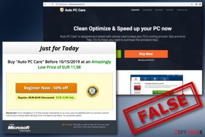 Auto PC Care virus