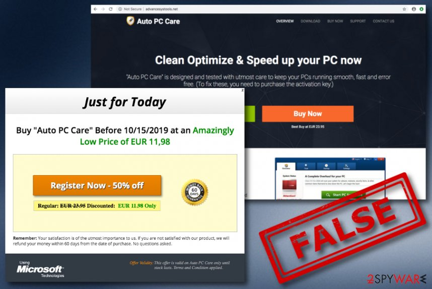 Auto PC Care virus