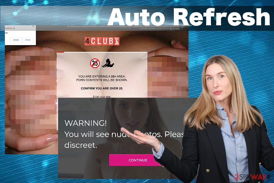 Auto Refresh virus