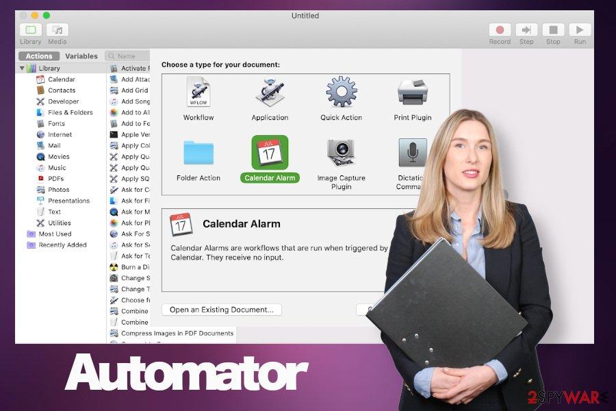 Automator virus