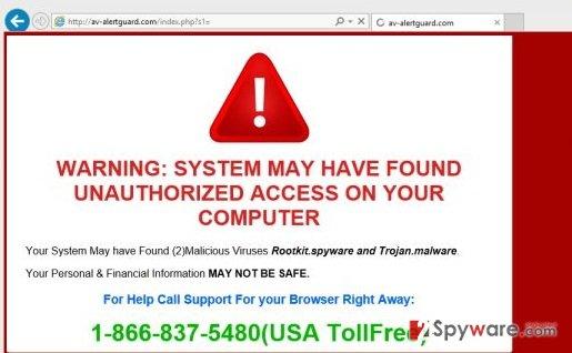 Av-alertprotector.com virus
