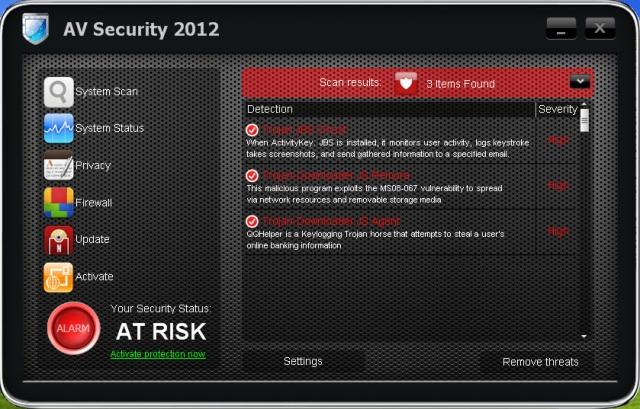 AV Security 2012