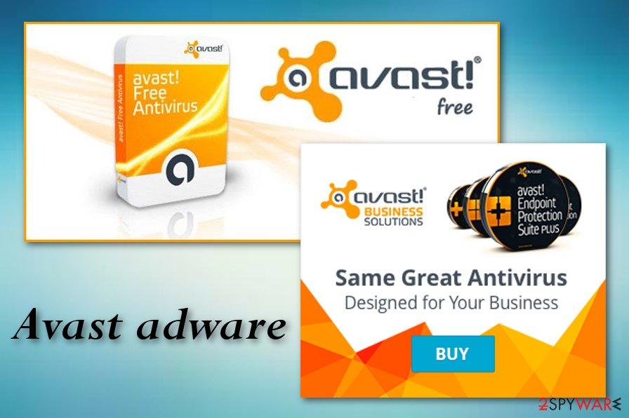 Avast adware