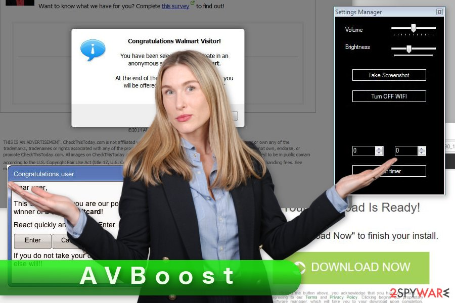 The image of AVBoost ads