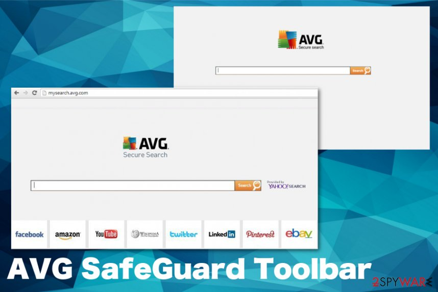 AVG SafeGuard Toolbar