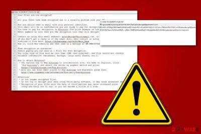 aztecdecrypt@protonmail.com ransomware virus
