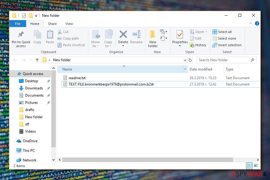 B2DR malware