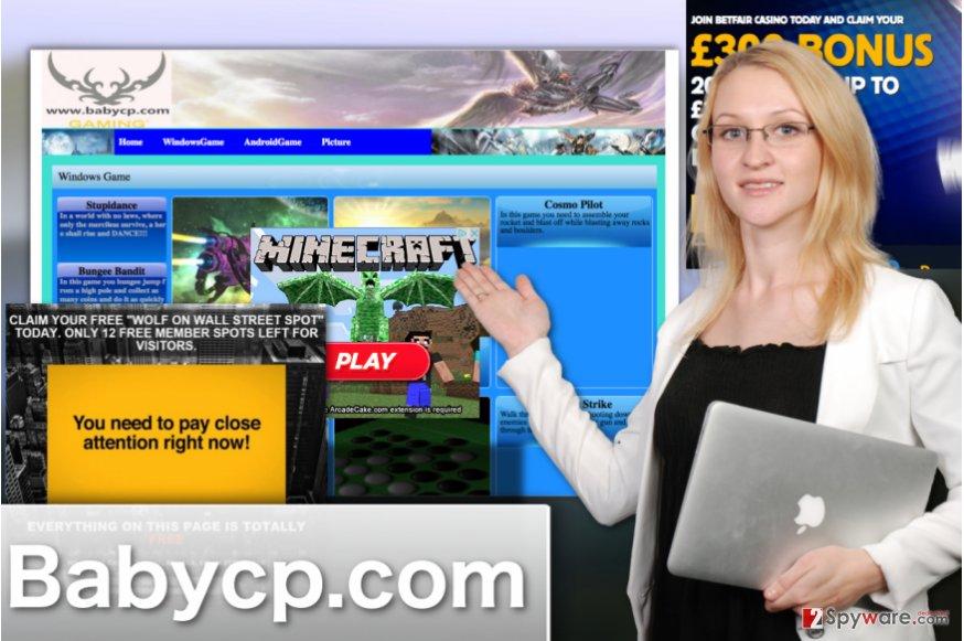 Babycp.com virus illustration