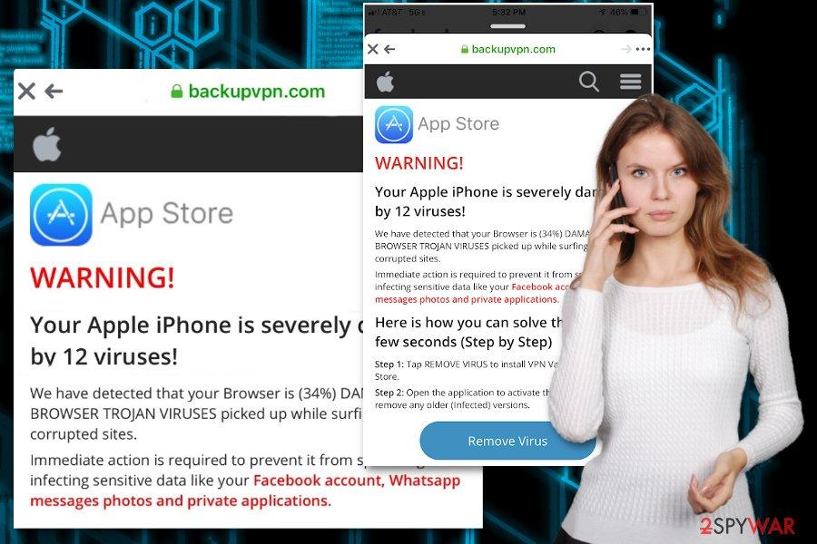 Backupvpn.com virus