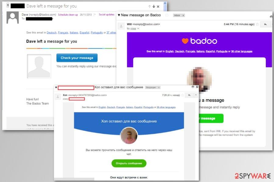 Badoo scam