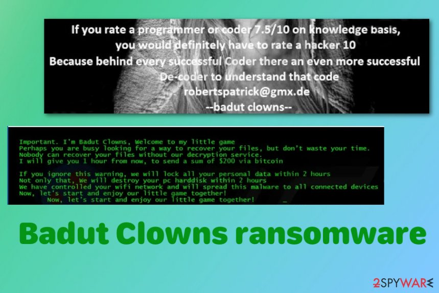 Badut Clowns ransomware