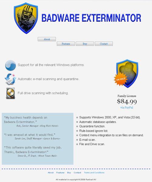 Badware Exterminator