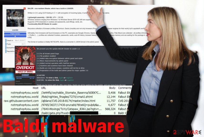 Baldr malware virus