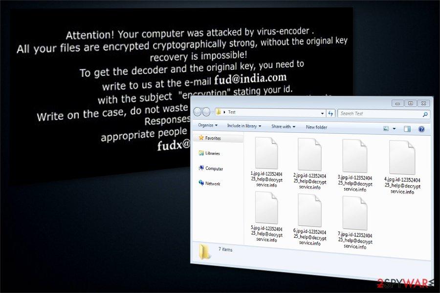 BandarChor ransomware image