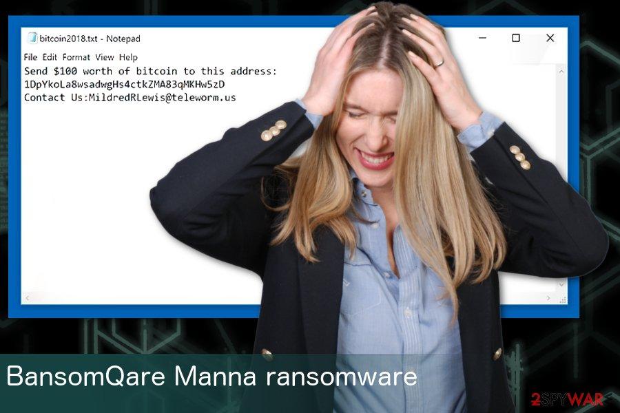 BansomQare Manna ransomware virus