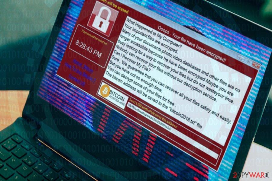 Bansomqare Wanna ransomware mimics infamous WannaCry