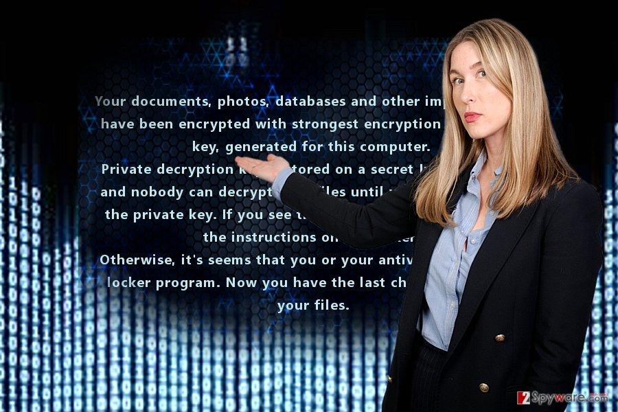 The image displaying Barrax virus
