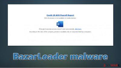 BazarLoader malware