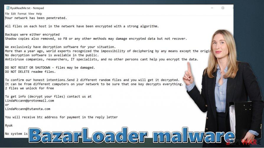 BazarLoader virus