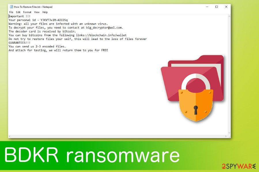 BDKR ransomware