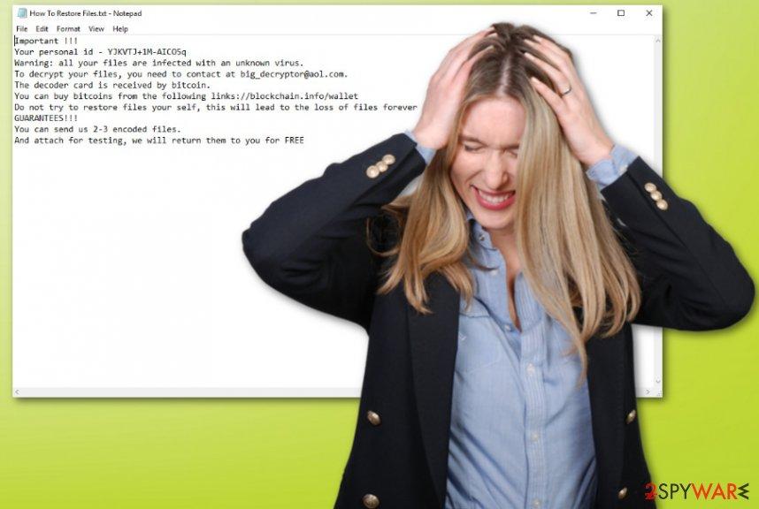 BDKR ransomware virus