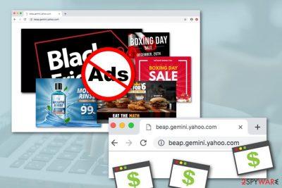 Beap.gemini.yahoo.com adware