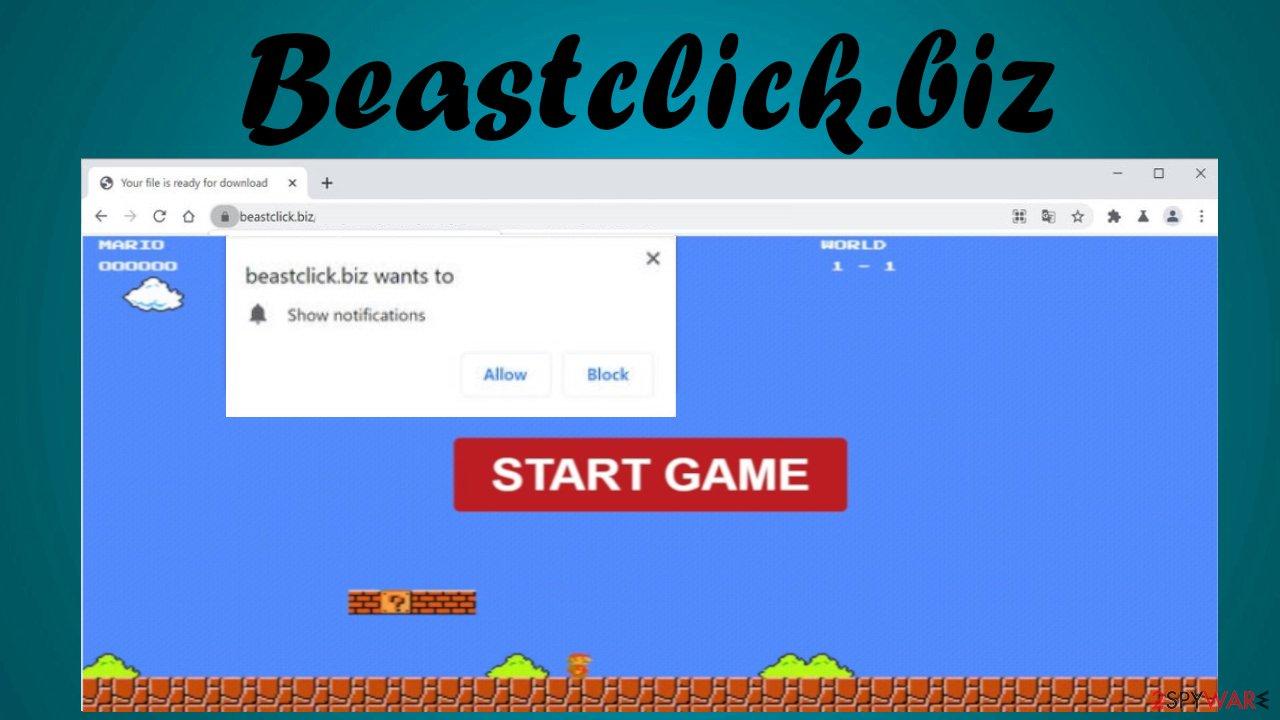 Beastclick.biz virus