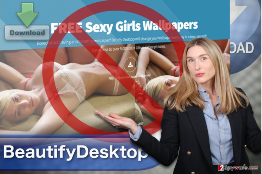 Image of the BeautifyDesktop ads