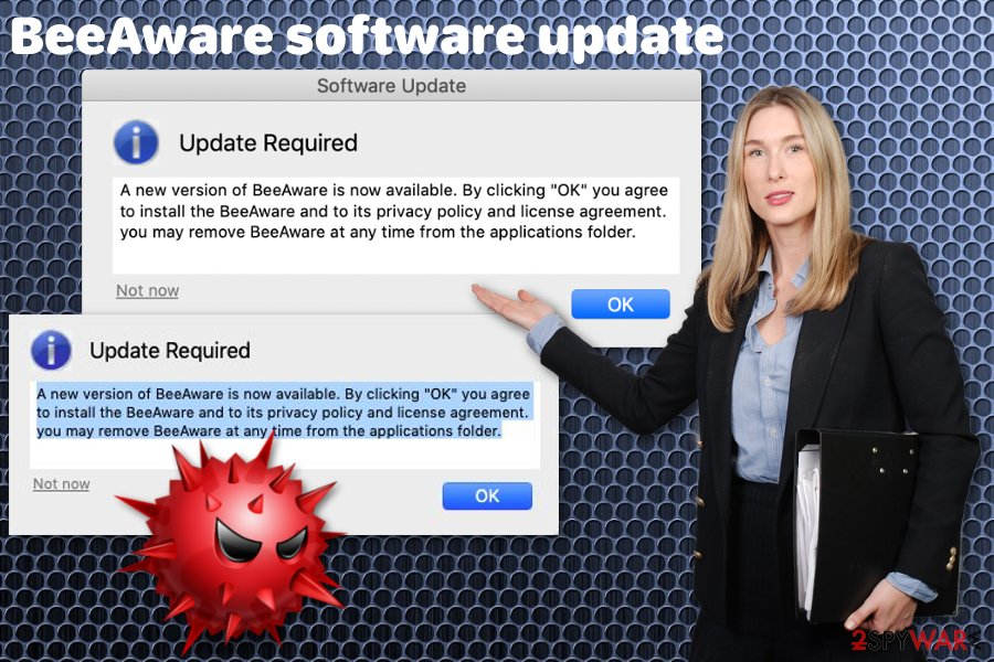 BeeAware software update virus