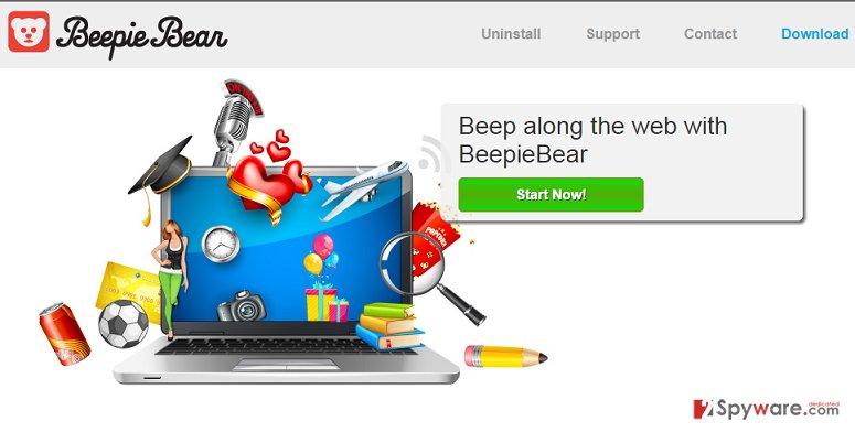 BeepieBear ads
