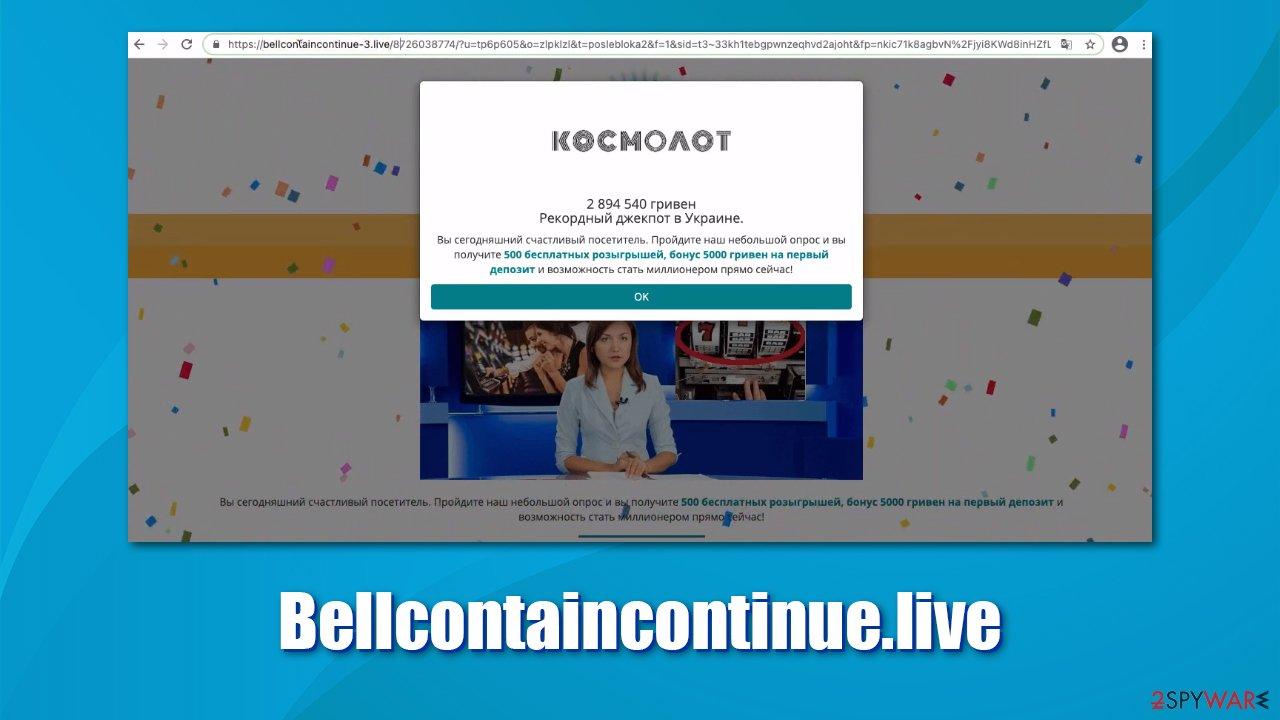 Bellcontaincontinue ads