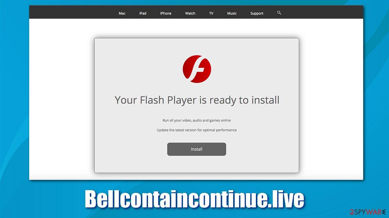 Bellcontaincontinue fake updates
