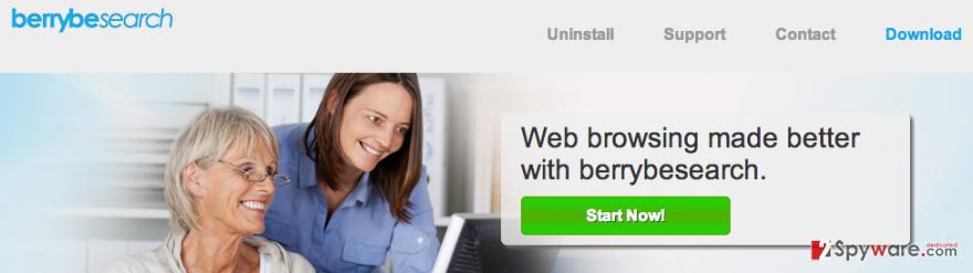 BerryBeSearch ads snapshot