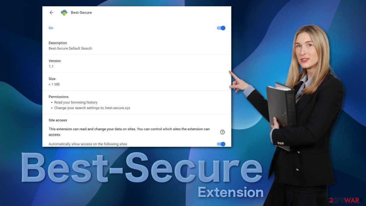 Best-Secure extension