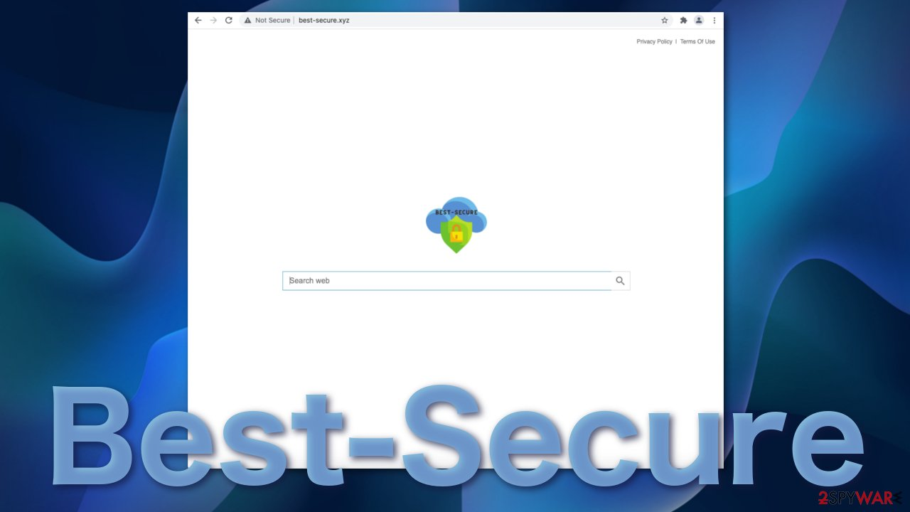 Best-Secure browser hijacker