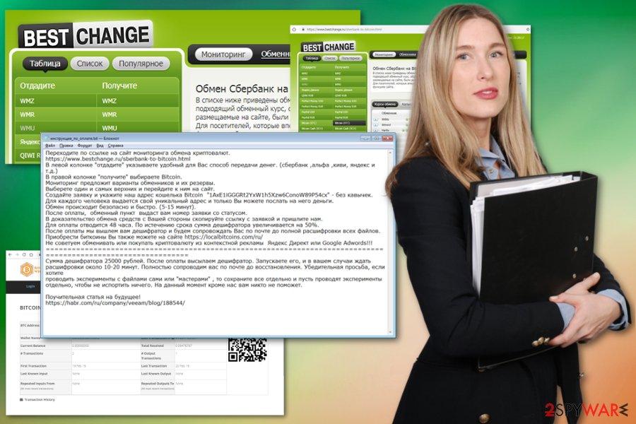 BestChangeRu ransomware virus