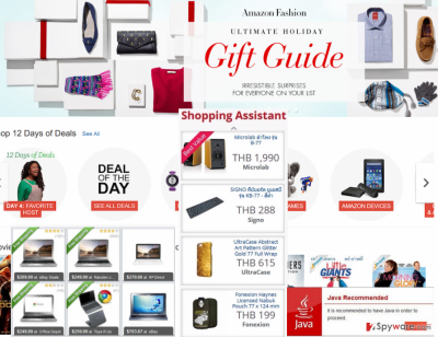 BestDeal pop-up notifications appearing when shopping online