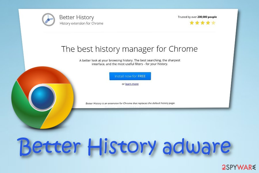 Better History extension