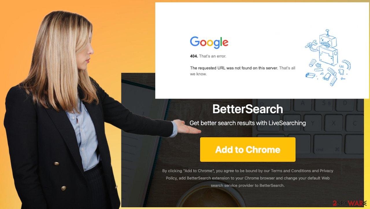Better Search hijacker