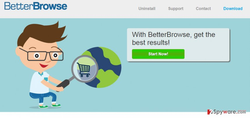 BetterBrowse adware