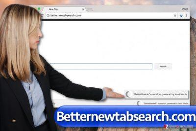 Betternewtabsearch.com virus