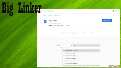 Big Linker browser hijacker
